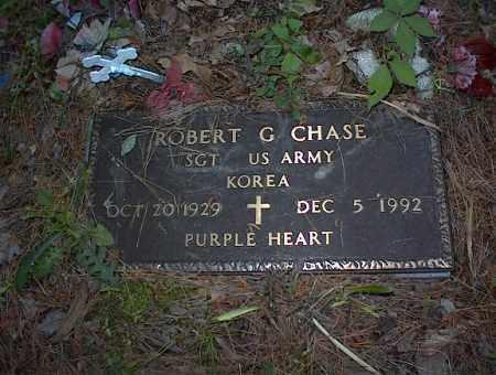 CHASE (VETERAN KOR), ROBERT G - Cross County, Arkansas | ROBERT G CHASE (VETERAN KOR) - Arkansas Gravestone Photos