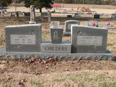 CHILDERS, DELIA - Cross County, Arkansas | DELIA CHILDERS - Arkansas Gravestone Photos