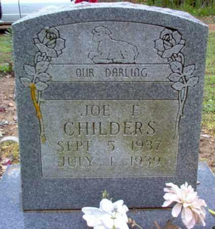 CHILDERS, JOE EDWARD - Cross County, Arkansas | JOE EDWARD CHILDERS - Arkansas Gravestone Photos