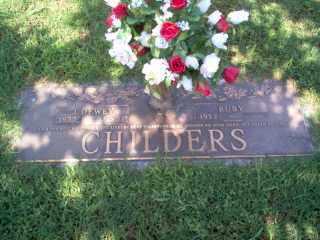 CHILDERS, JAMES DEWEY - Cross County, Arkansas | JAMES DEWEY CHILDERS - Arkansas Gravestone Photos