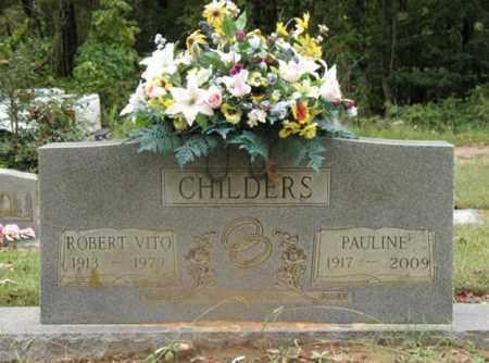 BANTON CHILDERS, AGNES PAULINE - Cross County, Arkansas | AGNES PAULINE BANTON CHILDERS - Arkansas Gravestone Photos