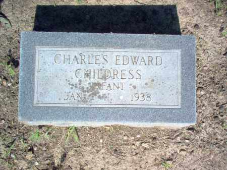 CHILDRESS, CHARLES EDWARD - Cross County, Arkansas | CHARLES EDWARD CHILDRESS - Arkansas Gravestone Photos