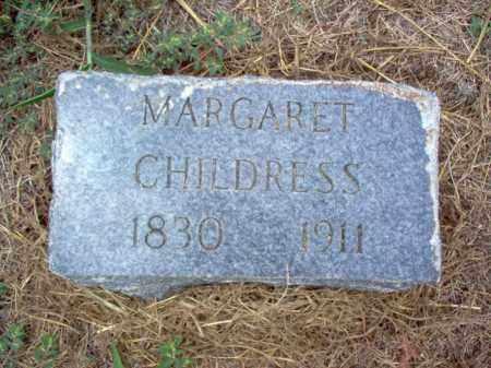 CHILDRESS, MARGARET - Cross County, Arkansas   MARGARET CHILDRESS - Arkansas Gravestone Photos