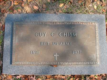 CHISM (VETERAN), GUY C - Cross County, Arkansas | GUY C CHISM (VETERAN) - Arkansas Gravestone Photos