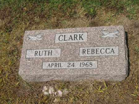 CLARK, REBECCA - Cross County, Arkansas   REBECCA CLARK - Arkansas Gravestone Photos