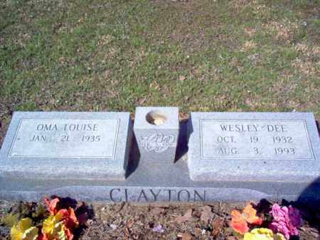 CLAYTON, OMA LOUISE - Cross County, Arkansas | OMA LOUISE CLAYTON - Arkansas Gravestone Photos