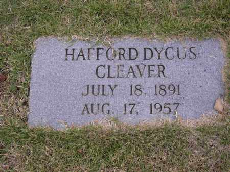 CLEAVER, HAFFORD DYCUS - Cross County, Arkansas | HAFFORD DYCUS CLEAVER - Arkansas Gravestone Photos