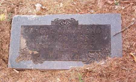 CLEVELAND, CAUZA - Cross County, Arkansas   CAUZA CLEVELAND - Arkansas Gravestone Photos