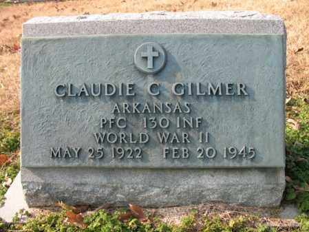 GILMER (VETERAN WWII), CLAUDIE C - Cross County, Arkansas | CLAUDIE C GILMER (VETERAN WWII) - Arkansas Gravestone Photos