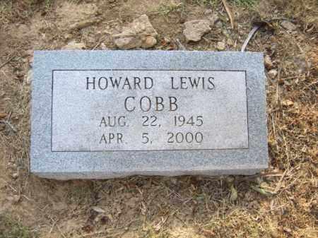 COBB, HOWARD LEWIS - Cross County, Arkansas   HOWARD LEWIS COBB - Arkansas Gravestone Photos