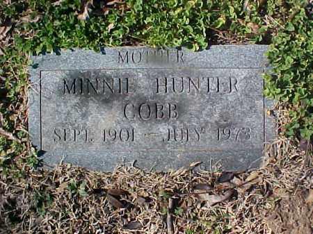 COBB, MINNIE - Cross County, Arkansas | MINNIE COBB - Arkansas Gravestone Photos