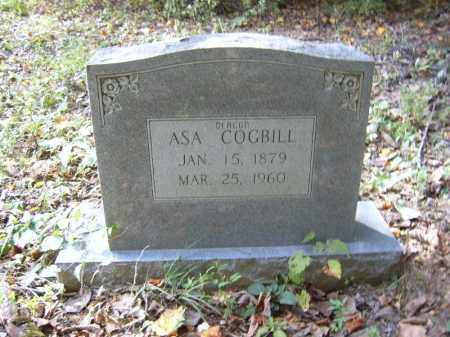 COGBILL, ASA - Cross County, Arkansas | ASA COGBILL - Arkansas Gravestone Photos