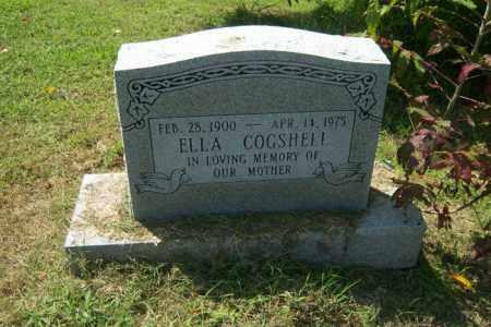 COGSHELL, ELLA - Cross County, Arkansas | ELLA COGSHELL - Arkansas Gravestone Photos