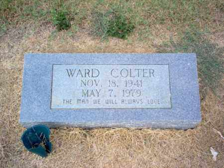 COLTER, WARD - Cross County, Arkansas | WARD COLTER - Arkansas Gravestone Photos