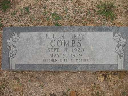 KIRBY COMBS, ELLEN - Cross County, Arkansas | ELLEN KIRBY COMBS - Arkansas Gravestone Photos