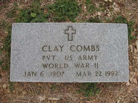 COMBS (VETERAN WWII), CLAY - Cross County, Arkansas | CLAY COMBS (VETERAN WWII) - Arkansas Gravestone Photos