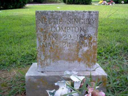 SINGLEY COMPTON, NETTIE - Cross County, Arkansas | NETTIE SINGLEY COMPTON - Arkansas Gravestone Photos