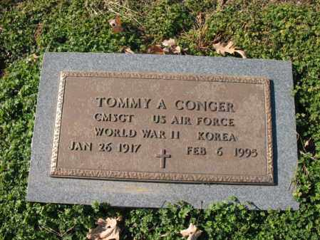 CONGER (VETERAN 2 WARS), TOMMY A - Cross County, Arkansas | TOMMY A CONGER (VETERAN 2 WARS) - Arkansas Gravestone Photos