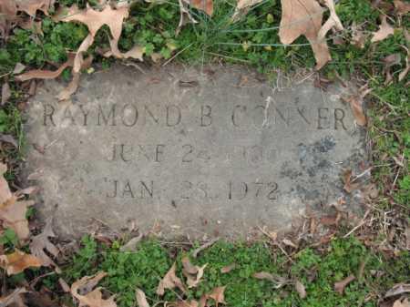CONNER, RAYMOND B - Cross County, Arkansas | RAYMOND B CONNER - Arkansas Gravestone Photos