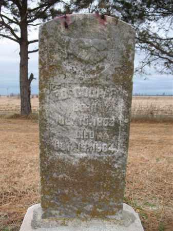 COOPER, ED - Cross County, Arkansas   ED COOPER - Arkansas Gravestone Photos