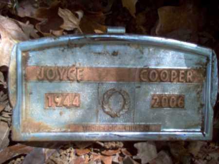 COOPER, JOYCE PAULINE - Cross County, Arkansas   JOYCE PAULINE COOPER - Arkansas Gravestone Photos