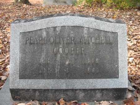 MITCHELL COOPER, PEARL OLIVER - Cross County, Arkansas | PEARL OLIVER MITCHELL COOPER - Arkansas Gravestone Photos