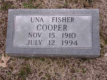FISHER COOPER, UNA - Cross County, Arkansas | UNA FISHER COOPER - Arkansas Gravestone Photos