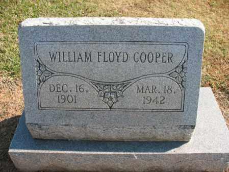 COOPER, WILLIAM FLOYD - Cross County, Arkansas | WILLIAM FLOYD COOPER - Arkansas Gravestone Photos