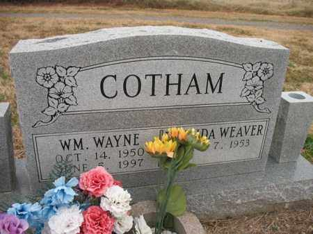 COTHAM (VETERAN), WILLIAM WAYNE - Cross County, Arkansas | WILLIAM WAYNE COTHAM (VETERAN) - Arkansas Gravestone Photos