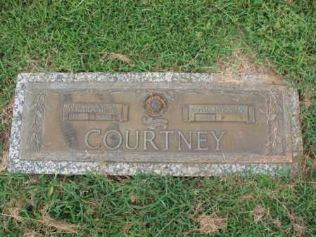 COURTNEY, CAROLYN M - Cross County, Arkansas | CAROLYN M COURTNEY - Arkansas Gravestone Photos
