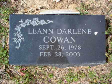 COWAN, LEANN DARLENE - Cross County, Arkansas | LEANN DARLENE COWAN - Arkansas Gravestone Photos