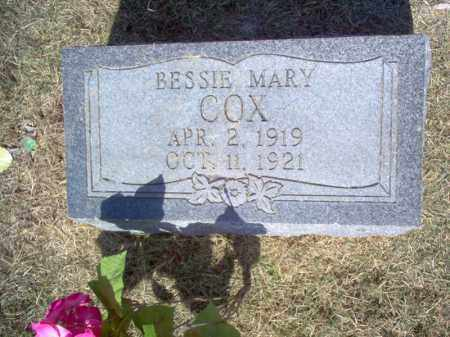COX, BESSIE MARY - Cross County, Arkansas | BESSIE MARY COX - Arkansas Gravestone Photos