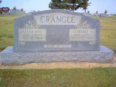 CRANGLE, GLENA MAE - Cross County, Arkansas | GLENA MAE CRANGLE - Arkansas Gravestone Photos