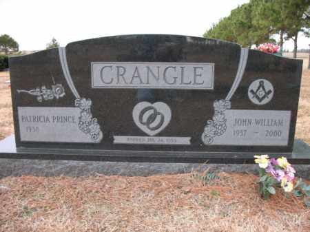 CRANGLE, JOHN WILLIAM - Cross County, Arkansas | JOHN WILLIAM CRANGLE - Arkansas Gravestone Photos