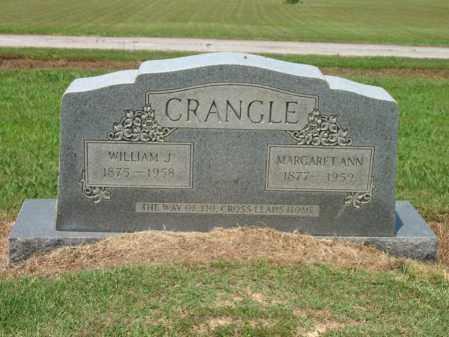 CRANGLE, MARGARET ANN - Cross County, Arkansas   MARGARET ANN CRANGLE - Arkansas Gravestone Photos