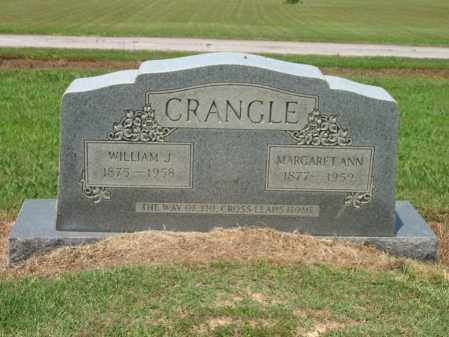 CRANGLE, WILLIAM J - Cross County, Arkansas | WILLIAM J CRANGLE - Arkansas Gravestone Photos
