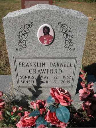 CRAWFORD, FRANKLIN DARNELL - Cross County, Arkansas   FRANKLIN DARNELL CRAWFORD - Arkansas Gravestone Photos