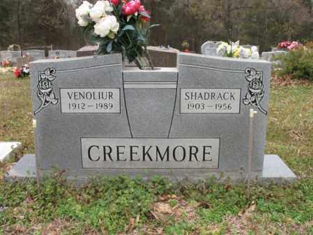 CREEKMORE, VENOLIUR - Cross County, Arkansas | VENOLIUR CREEKMORE - Arkansas Gravestone Photos