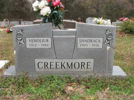 CREEKMORE, SHADRACK - Cross County, Arkansas | SHADRACK CREEKMORE - Arkansas Gravestone Photos