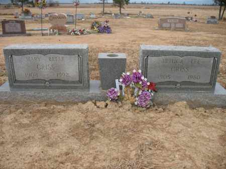 CRISS, MARY BELLE - Cross County, Arkansas   MARY BELLE CRISS - Arkansas Gravestone Photos