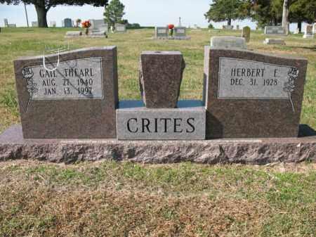 CRITES, GAIL THEARL - Cross County, Arkansas   GAIL THEARL CRITES - Arkansas Gravestone Photos