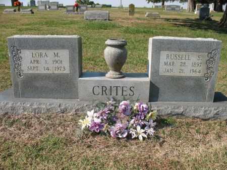 CRITES, LORA M - Cross County, Arkansas | LORA M CRITES - Arkansas Gravestone Photos