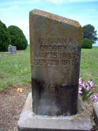 CROSBY, SUSANNA - Cross County, Arkansas | SUSANNA CROSBY - Arkansas Gravestone Photos