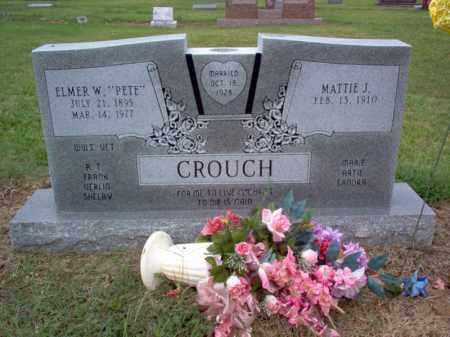 "CROUCH, ELMER W ""PETE"" - Cross County, Arkansas | ELMER W ""PETE"" CROUCH - Arkansas Gravestone Photos"