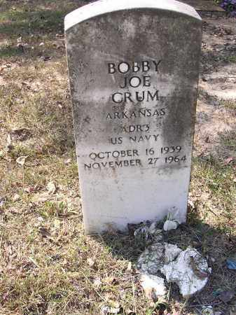 CRUM (VETERAN), BOBBY JOE - Cross County, Arkansas | BOBBY JOE CRUM (VETERAN) - Arkansas Gravestone Photos