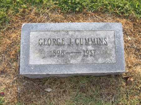 CUMMINS, GEORGE J - Cross County, Arkansas   GEORGE J CUMMINS - Arkansas Gravestone Photos