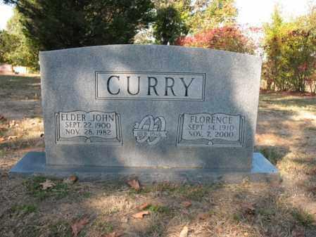 CURRY, FLORENCE - Cross County, Arkansas | FLORENCE CURRY - Arkansas Gravestone Photos