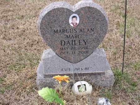 """DAILEY, MARCUS ALAN """"MARC"""" - Cross County, Arkansas   MARCUS ALAN """"MARC"""" DAILEY - Arkansas Gravestone Photos"""