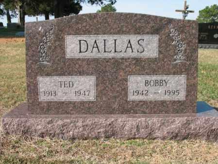 DALLAS, TED - Cross County, Arkansas | TED DALLAS - Arkansas Gravestone Photos