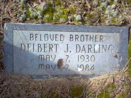 DARLING, DELBERT J - Cross County, Arkansas   DELBERT J DARLING - Arkansas Gravestone Photos